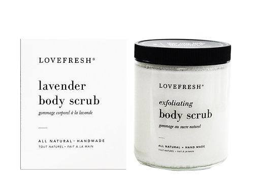 Love Fresh Lavender Body Scrub