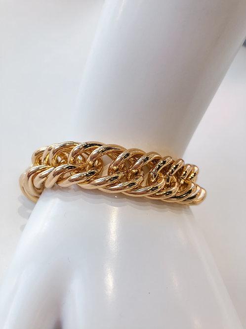 Jocelyn Kennedy Chunky Chain Bracelet- Gold