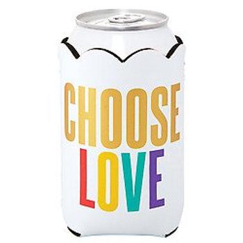 Choose Love Pride Koozie