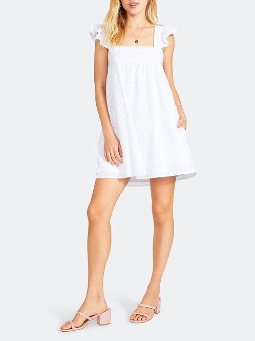 BB Dakota: On The Square Dress White