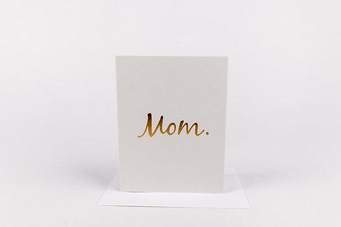 Wrinkle and Crease Mom Card