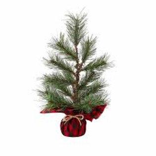 Mudpie Buffalo Faux Pine Tree