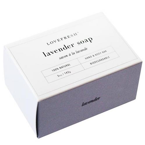 Love Fresh Lavender Bar Soap