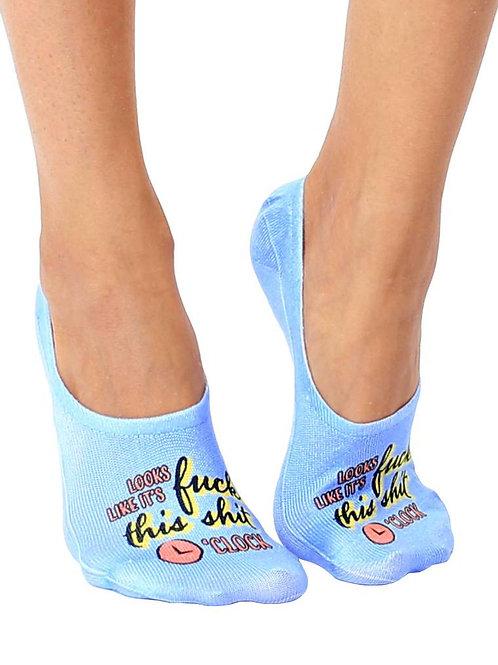 Living Royal F This Sh*t O'Clock Liner Socks