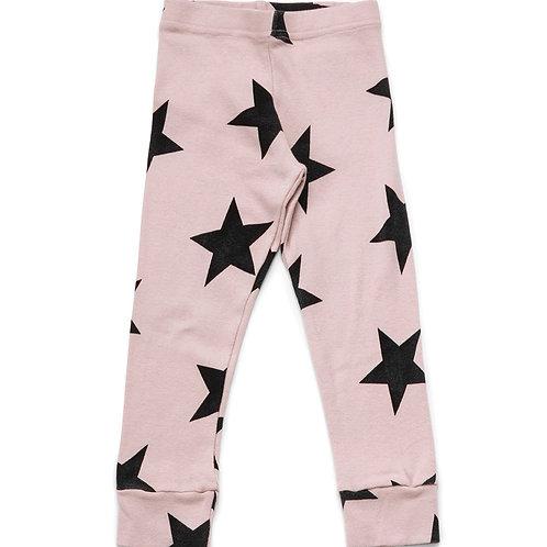 nununu Pink Star Leggings