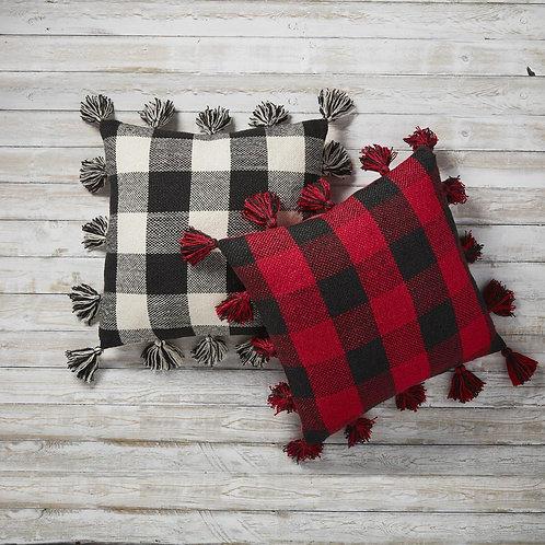 Mudpie Buffalo Check Plaid Pillows