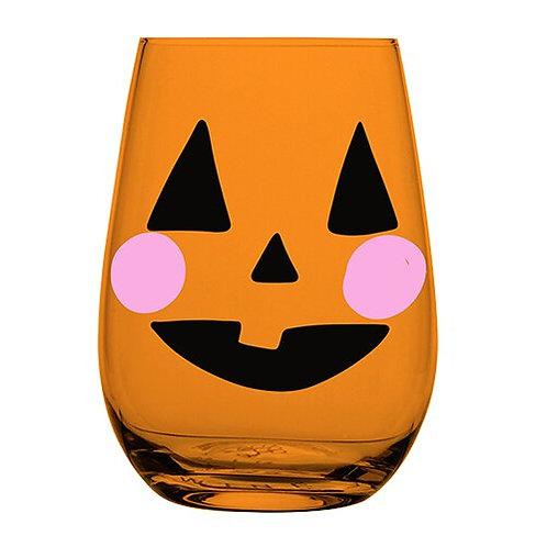 Wine Glass- Jackolantern