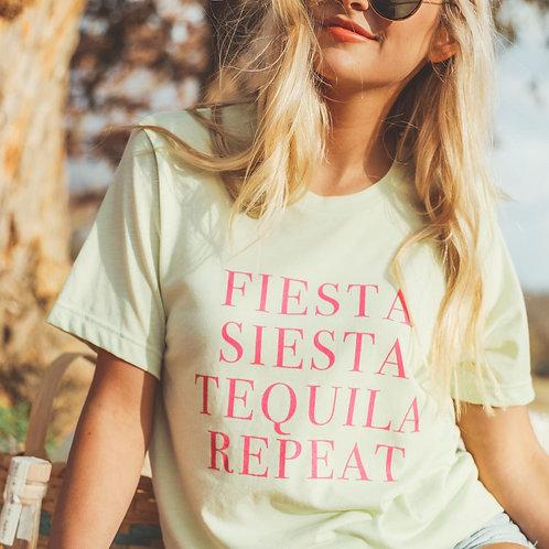 Friday + Saturday: Fiesta Siesta Tequila Repeat Tee