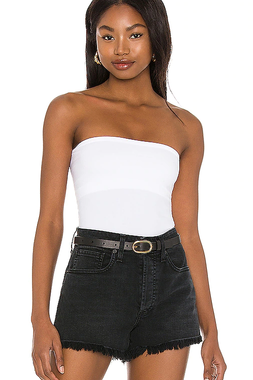 Free People Carrie Tube Top White