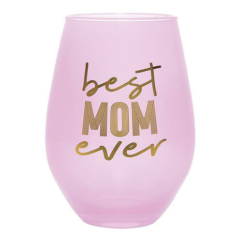 Jumbo Wine Glass-Best Mom Ever