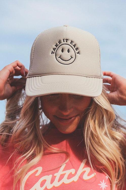 Friday + Saturday: Take It Easy Trucker Hat