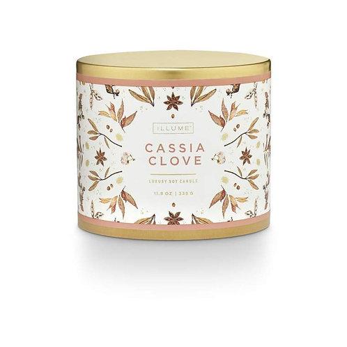 Illume Cassia Clove Large Tin