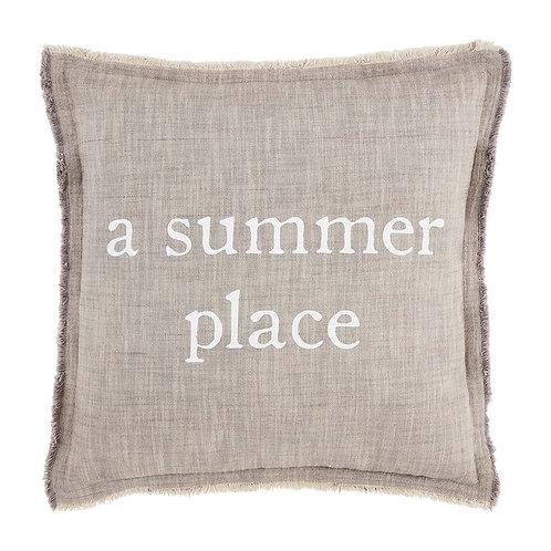Mudpie A Summer Place Pillow