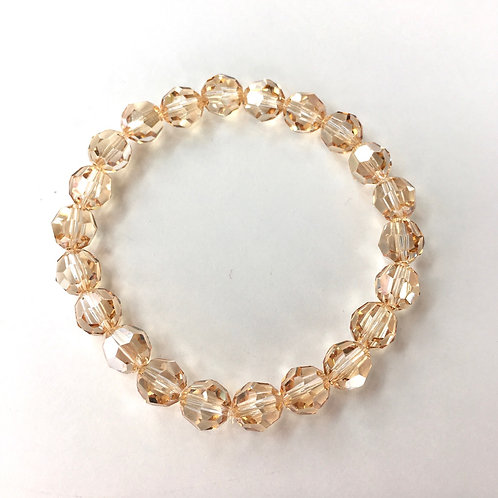 Jocelyn Kennedy Golden Shadow Crystal Bracelet