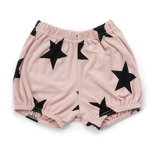nununu Pink Star Yoga Shorts