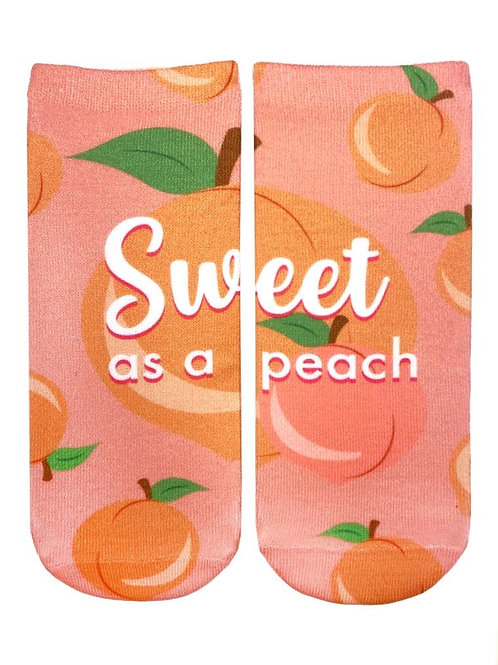 Living Royal Sweet As Peach Ankle Socks
