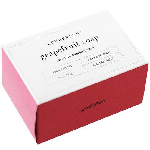 Love Fresh Grapefuit Bar Soap