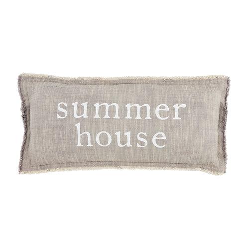 Mudpie Summer House Pillow
