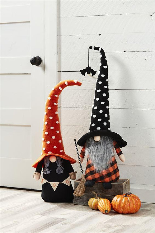 Mudpie Large Witch Gnomes