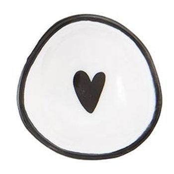 Porcelain Heart Ring Dish