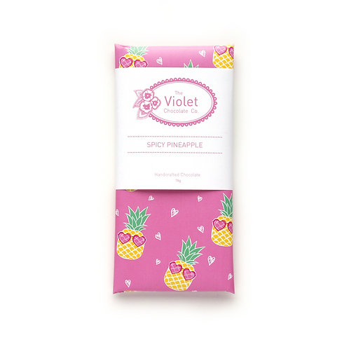 The Violet Chocolate Co. Spicy Pineapple