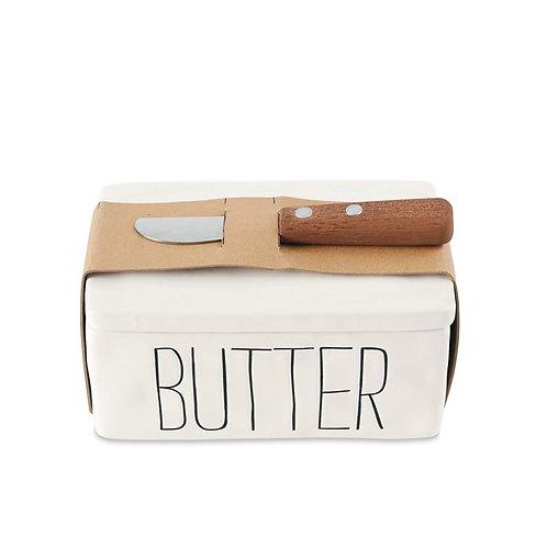 Mudpie Bistro Butter Container