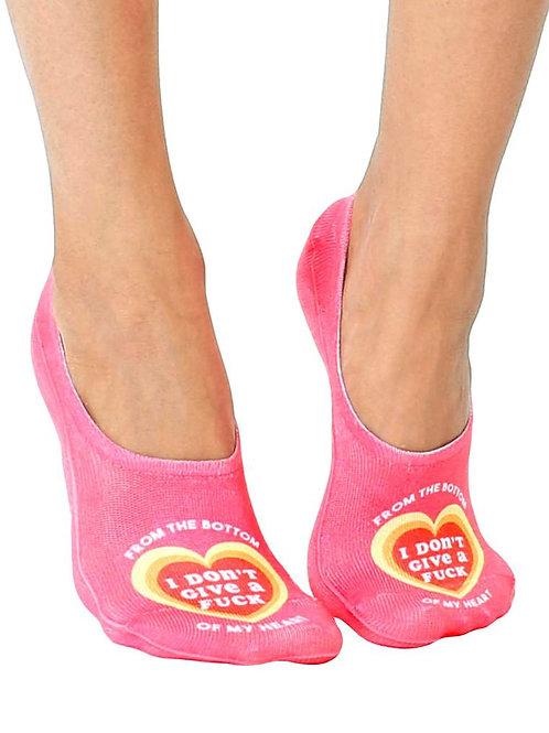 Living Royal Bottom Of My Heart Liner Socks