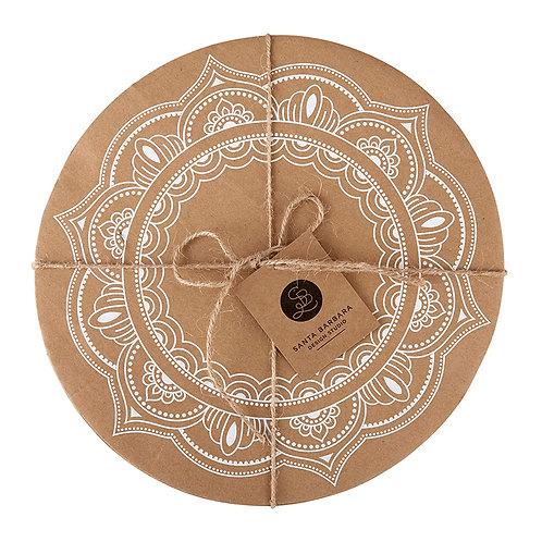 Cardboard Serving Trays-Mandala
