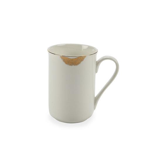 Gold Lips Mug