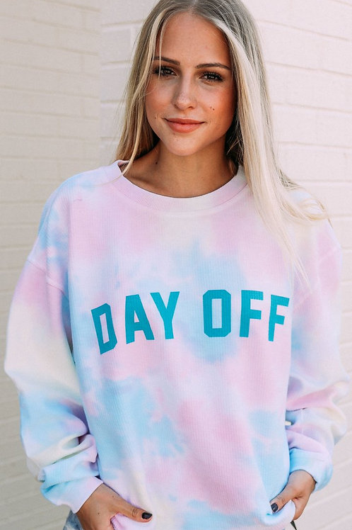 PREORDER Friday + Saturday Day Off Corded Sweatshirt
