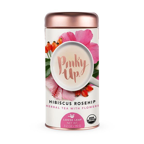 Pinky Up Hibiscus Rosehip Loose Leaf Tea