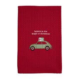 Mudpie Waffle Christmas Towel