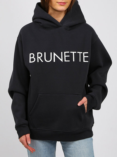Brunette The Label Brunette Classic Hoodie Charcoal