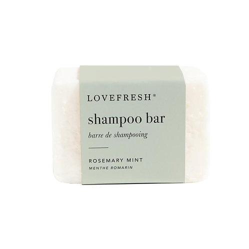 Love Fresh Rosemary Mint Shampoo Bar