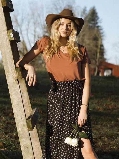 Jackson Rowe Link Skirt Poppy Print