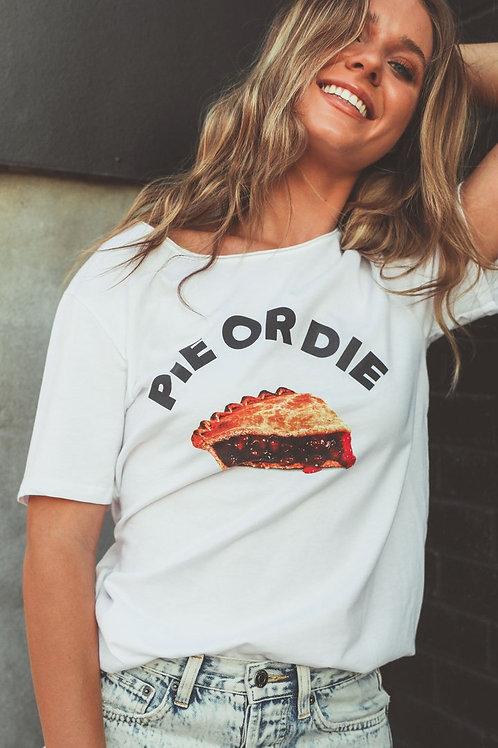 Charlie Southern: Pie Or Die Tee Shirt