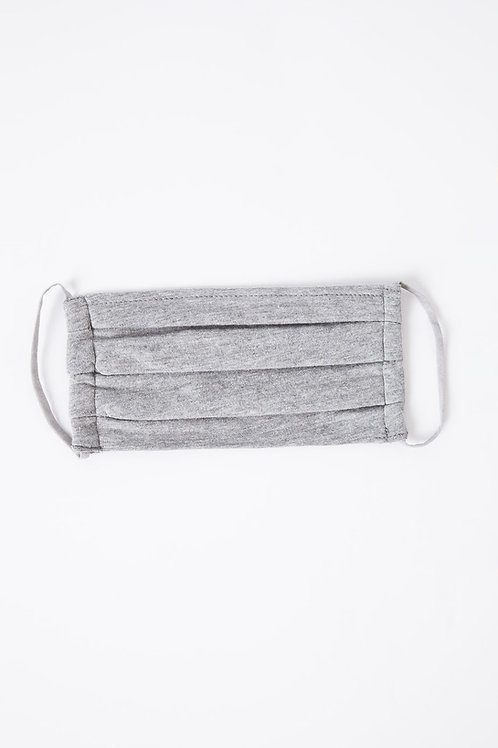 Z Supply Face Mask Heather Grey