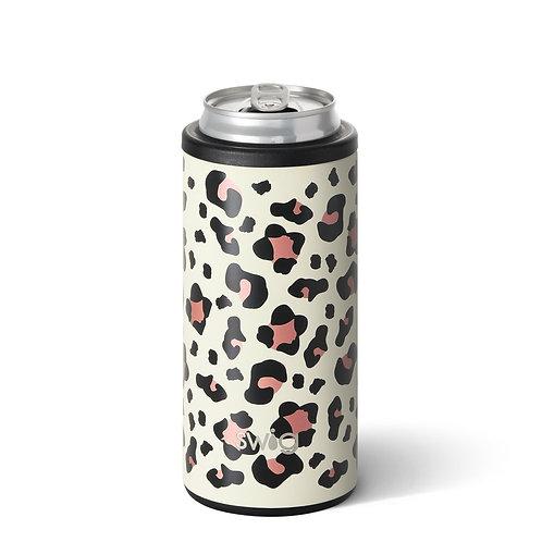Swig Skinny Can Cooler Luxy Leopard