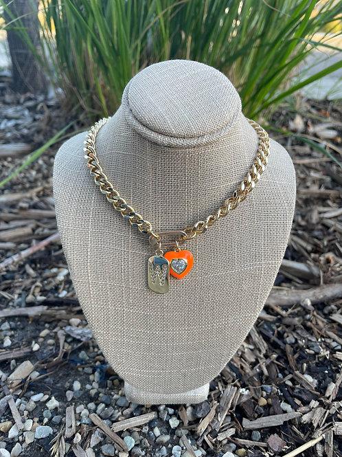 Jocelyn Kennedy Gold Chain Necklace