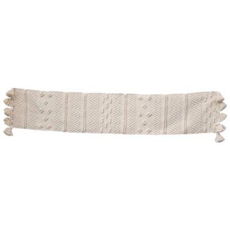 Woven Cotton Textured Table Runner
