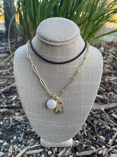 Jocelyn Kennedy Necklace Gold Necklace Stack