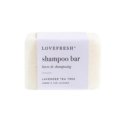 Love Fresh Lavender Tea Tree Shampoo Bar