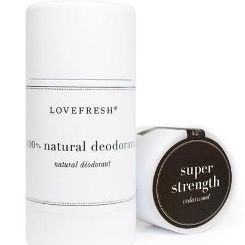 Love Fresh Cedarwood Super Strength Natural Deodorant
