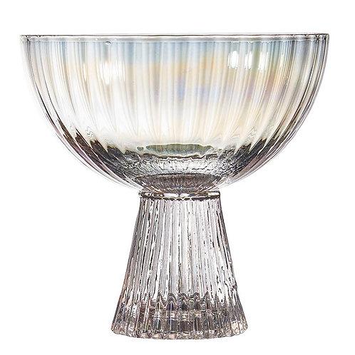 Glass Beveled Coupe - Iridescent