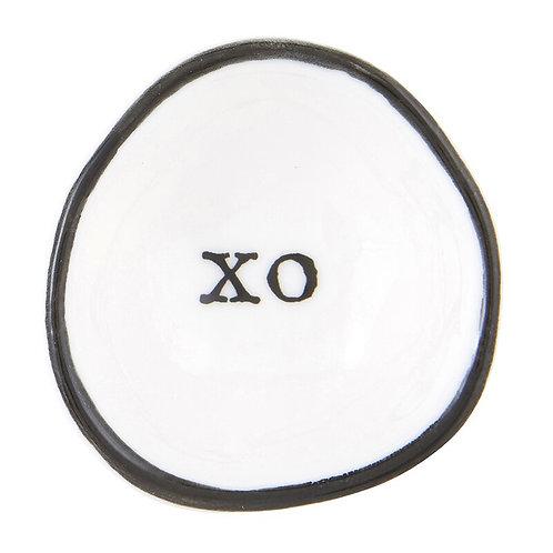 Porcelain XO Ring Dish
