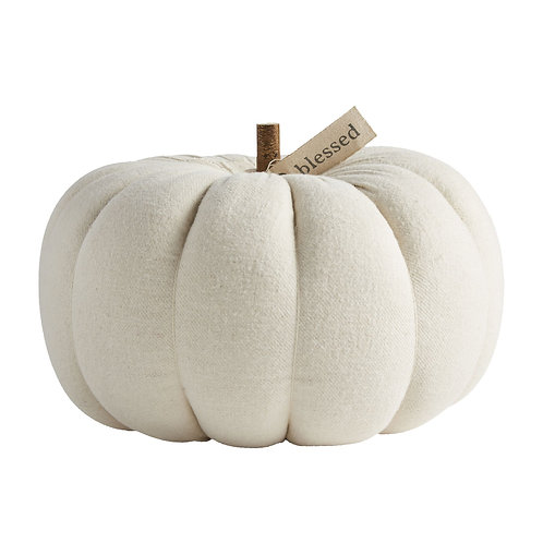 Mudpie Large Cream Pumpkin