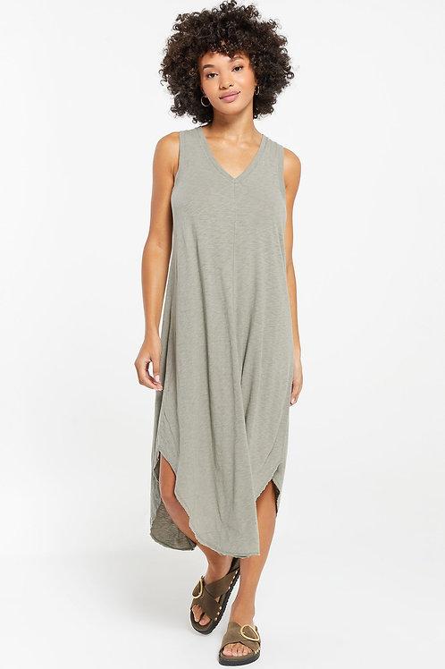Z Supply The Reverie Dress Dusty Sage