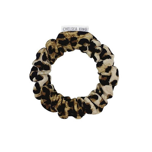 Chelsea King Scrunchie -Iconic Leopard