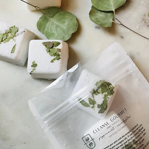 Pure Energy Eucalyptus + Peppermint Organic Shower Steamers 5 Pack