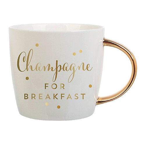 Coffee Mug- Champagne For Breakfast